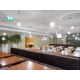 Order your pizza and enjoy it in a modern ambience
