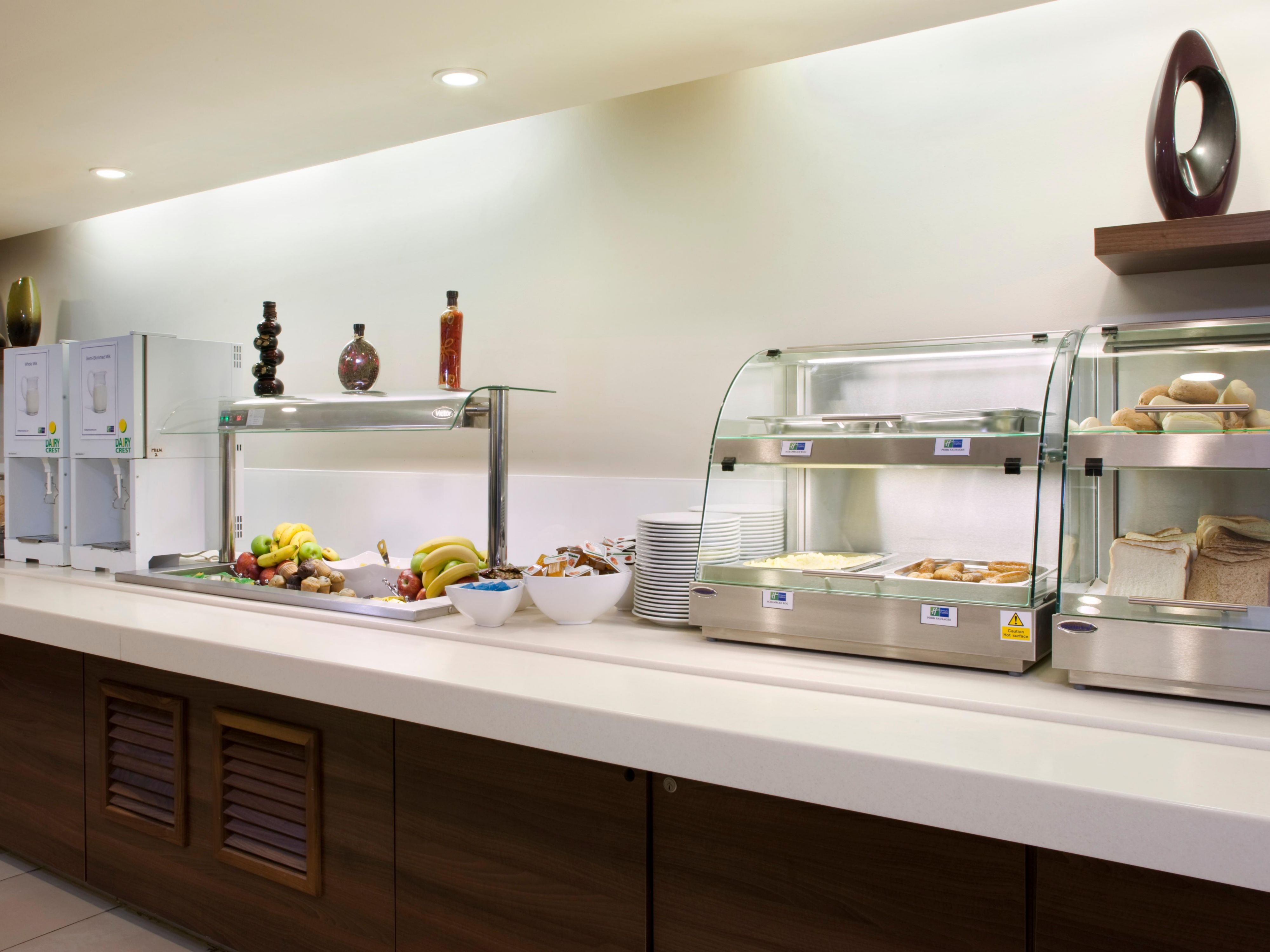 Free breakfast is included at our Greenwich hotel