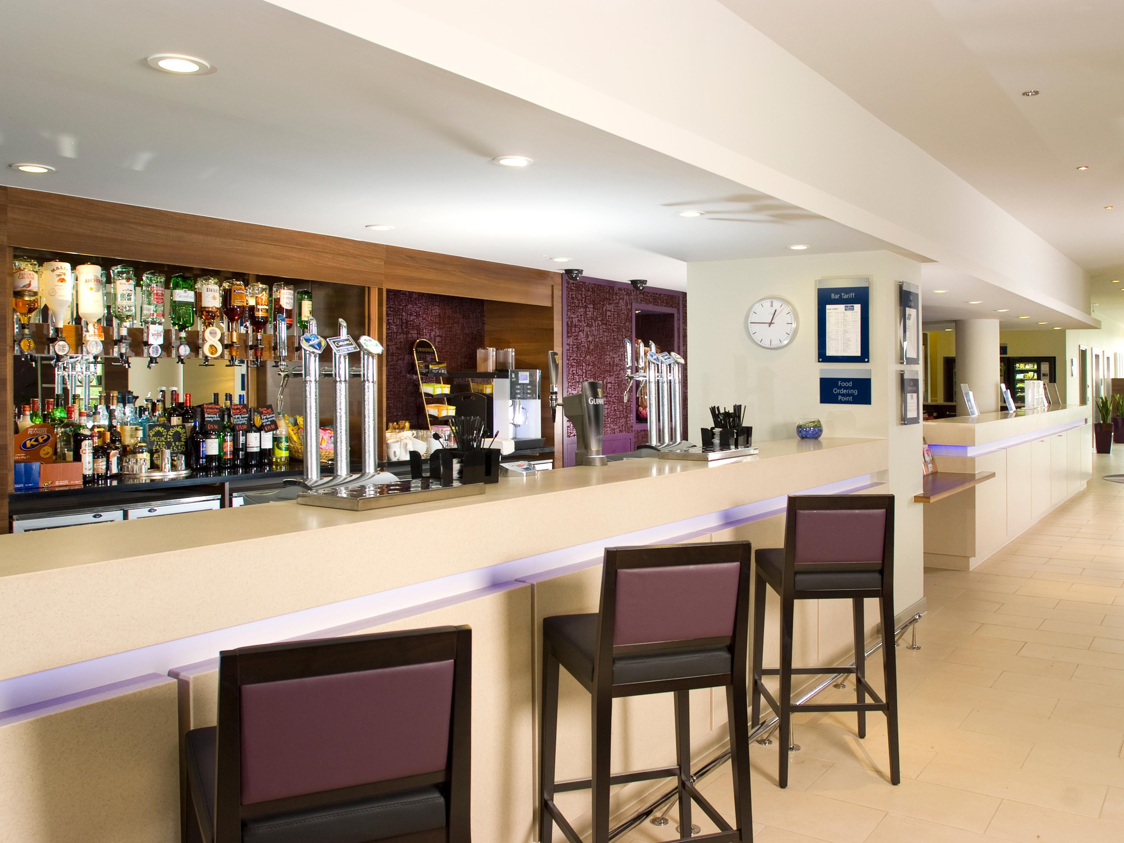 Our bar serves a selection of wines, beers, spirits & soft drinks