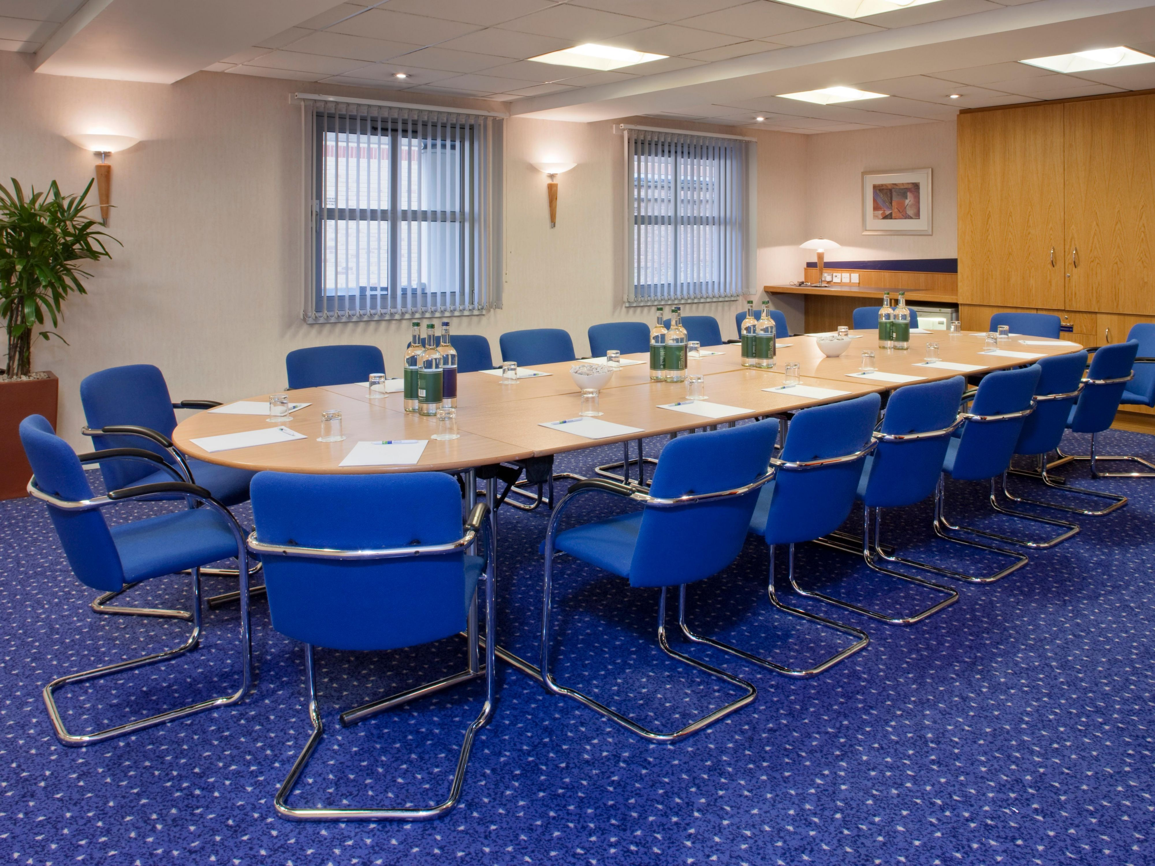 Meeting rooms for up to 35 delegates at our Hammersmith hotel