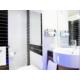 Modern, Bright Guest Bathroom