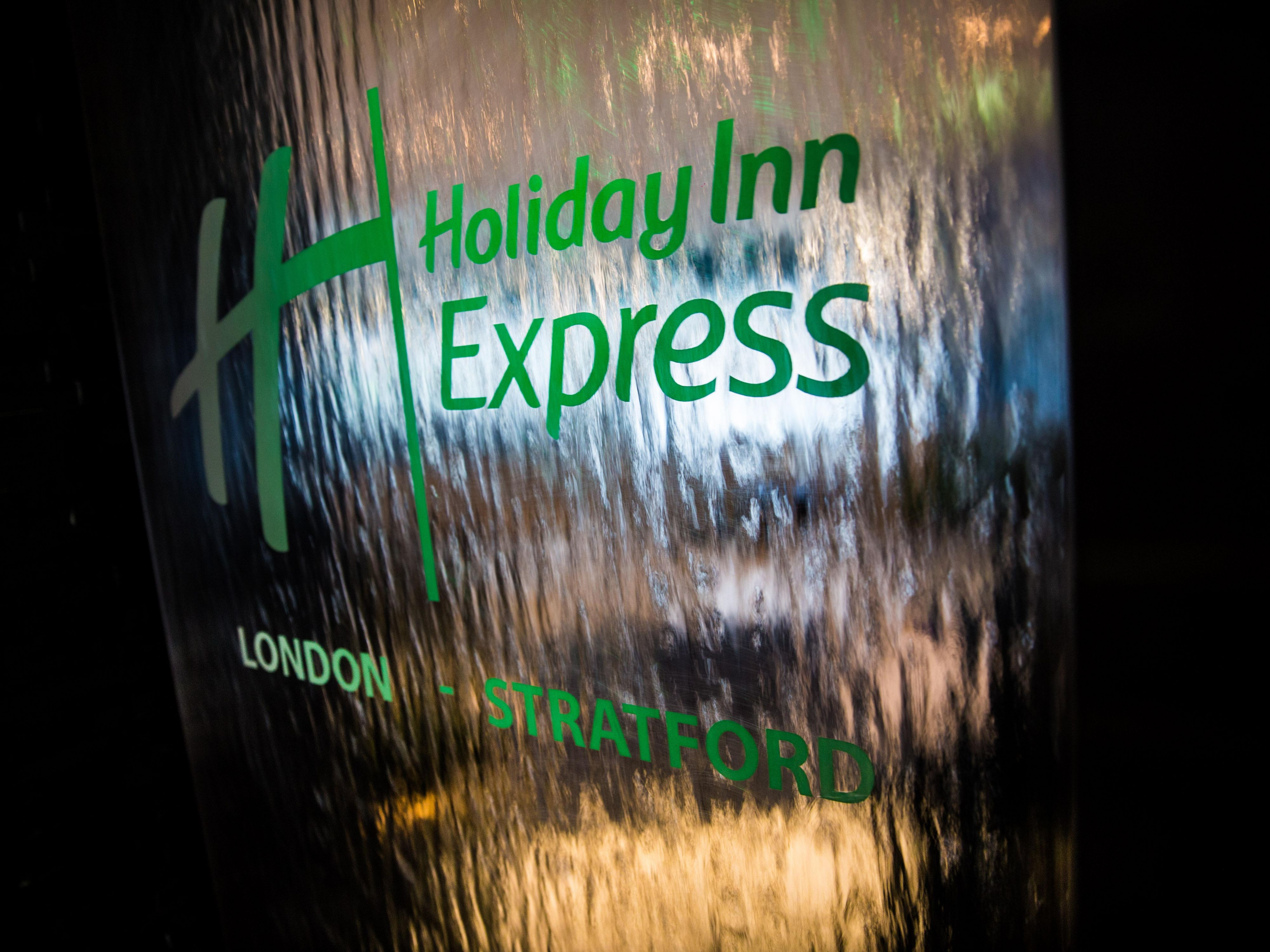 Welcome to the Holiday Inn Express London Stratford