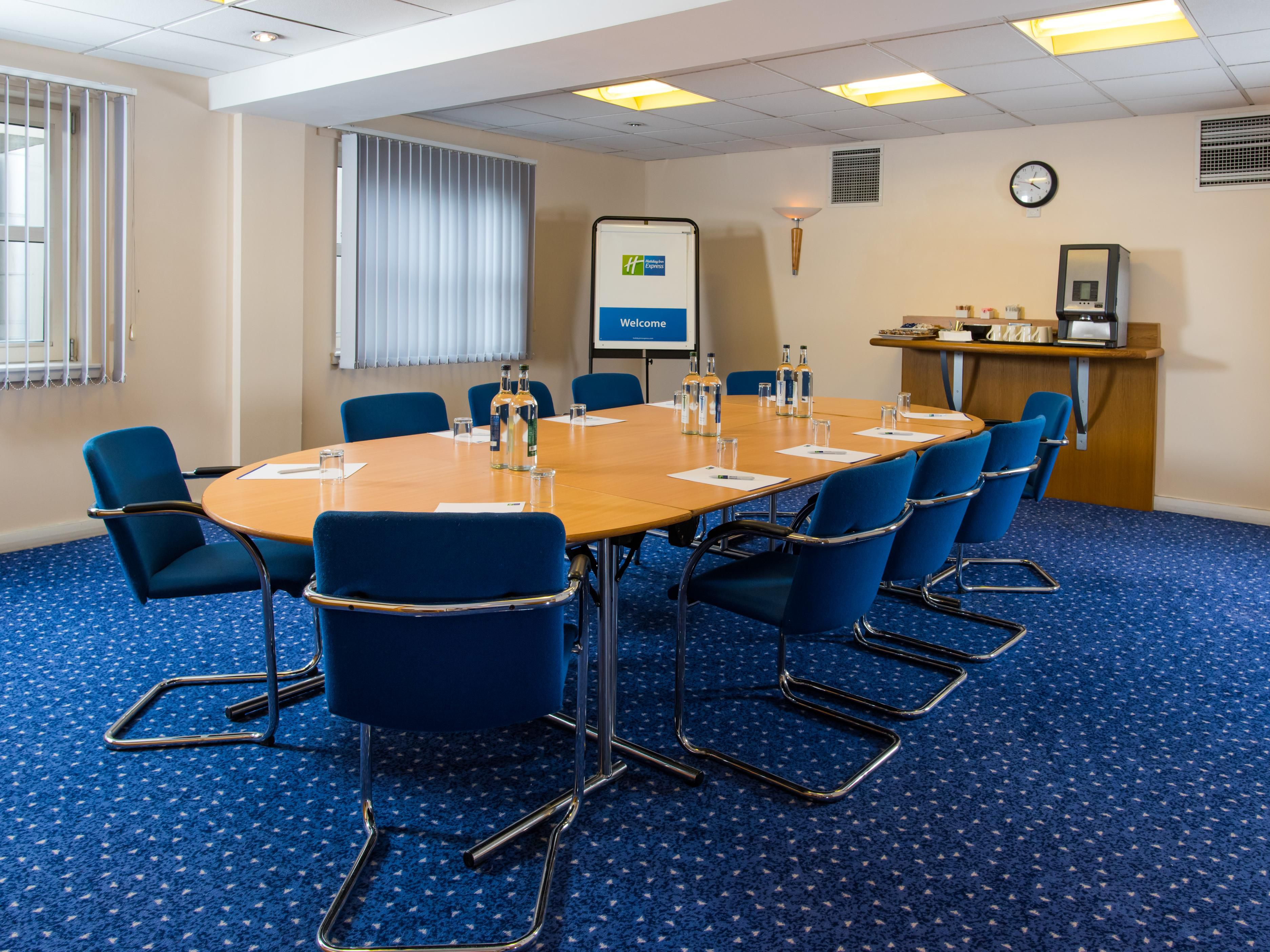 Our meetings rooms boast air-conditioning and natural daylight