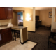 King Suite Feature Kitchen and Living Room area