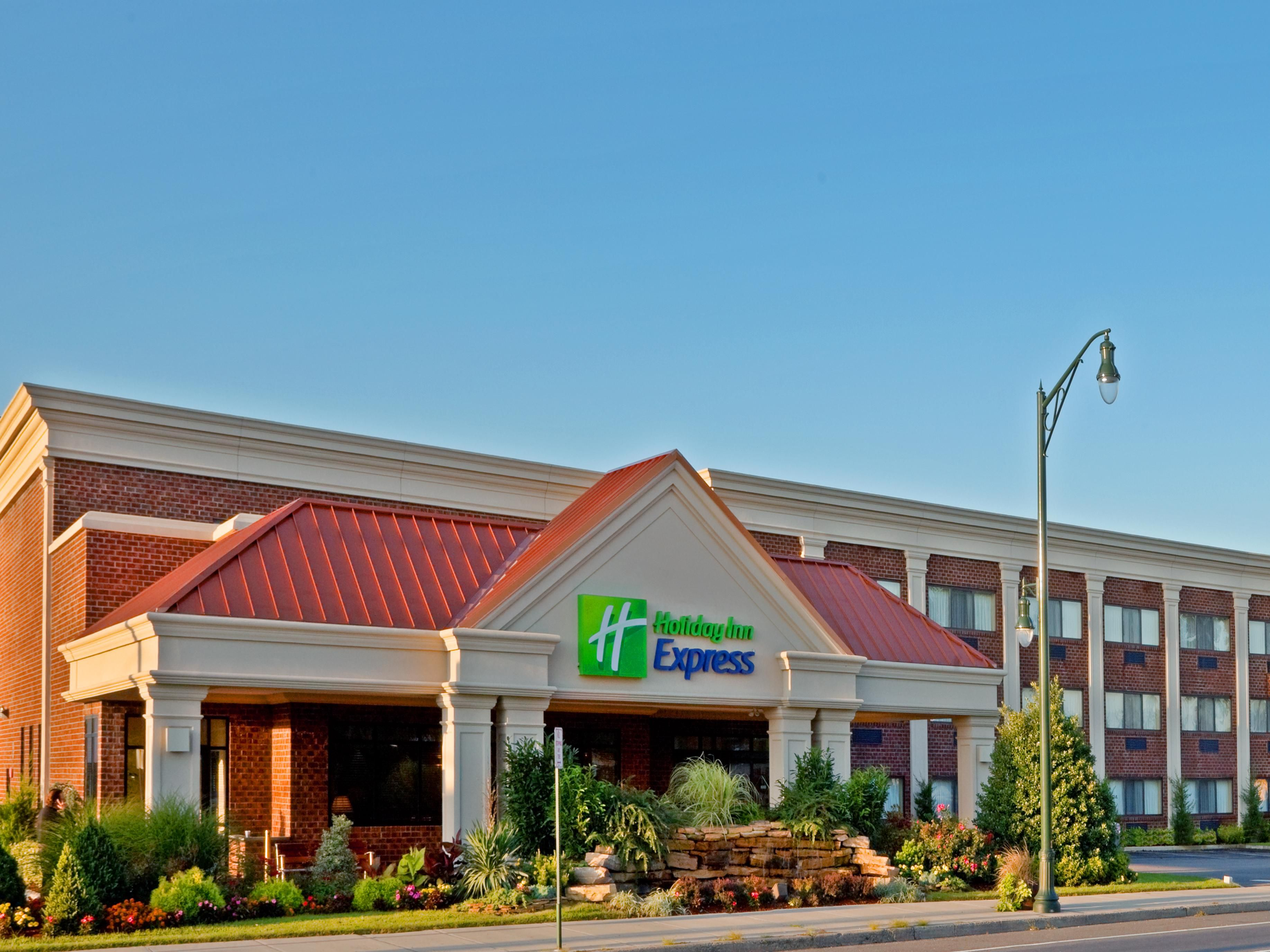 Welcome to the Holiday Inn Express!