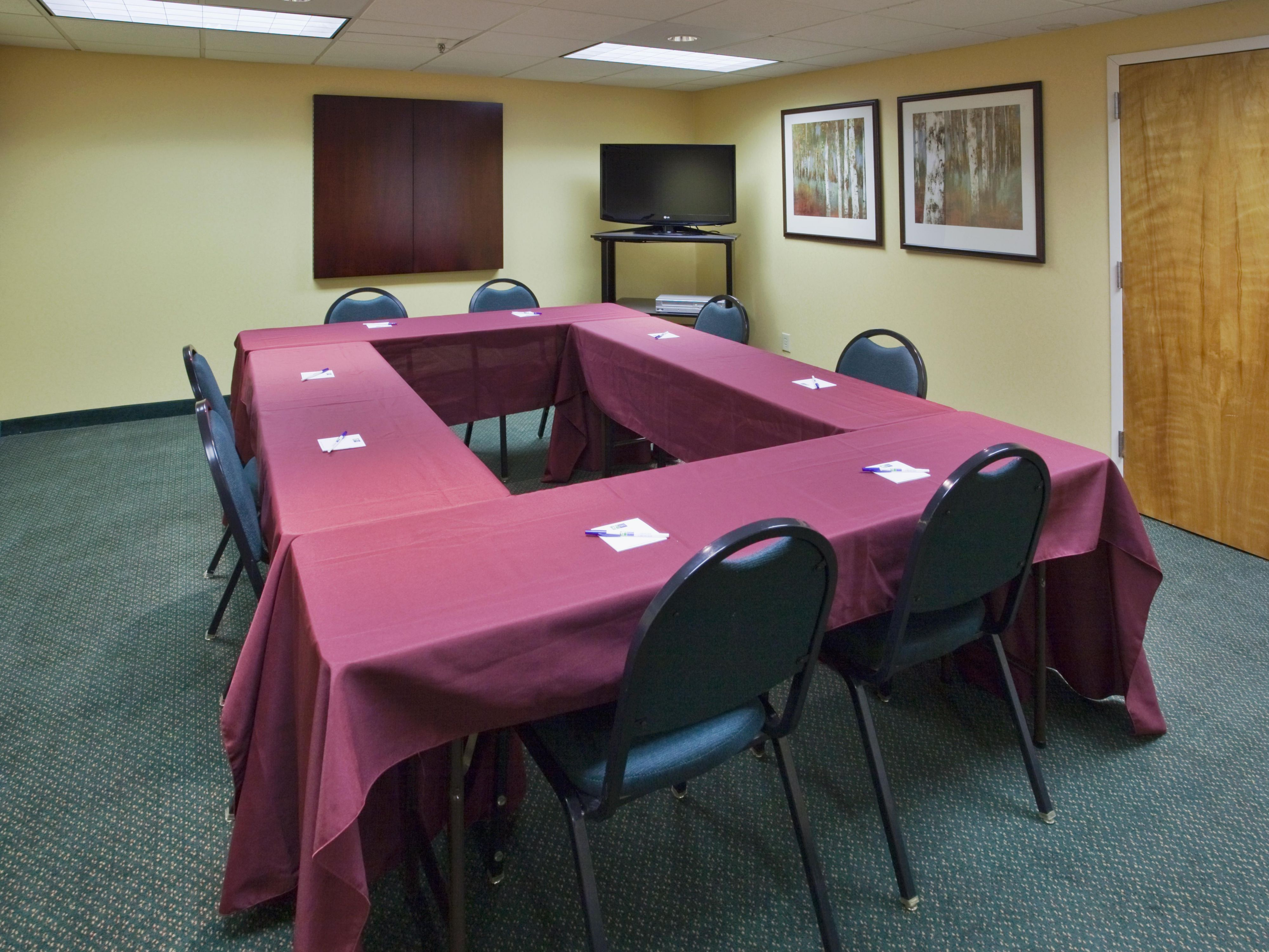 Our staff is ready to accommodate your meeting's needs
