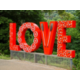 Take a fun group photo when visiting the Lynchburg LOVE Sign