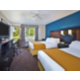 Two Queen Guest Room with private balcony 3rd floor