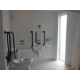 Accessible Bathroom With Dove And Lux Toiletries