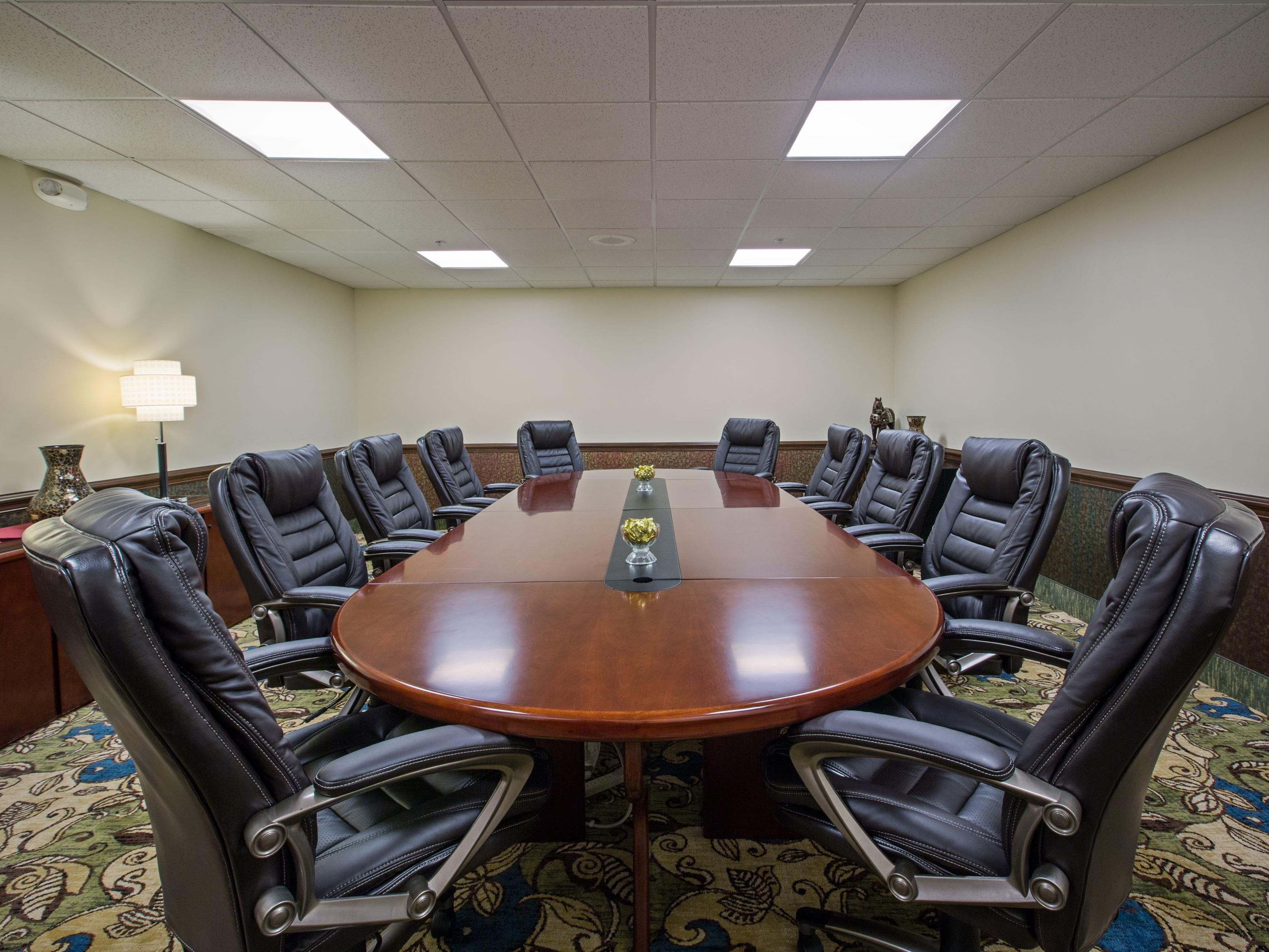 Our Boardroom provides an ideal meeting space