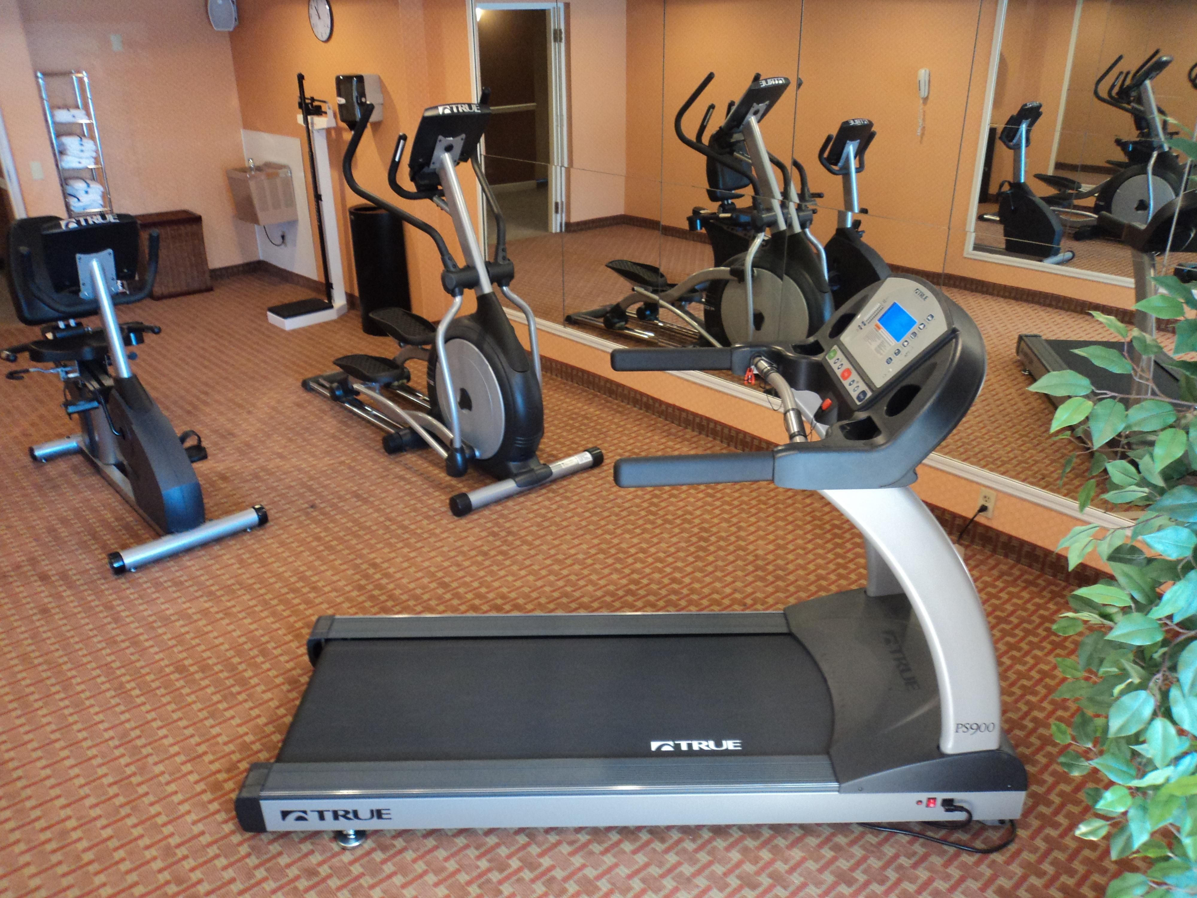 Stay Healthy In Our New Fitness Center