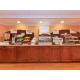 Breakfast Bar with oatmeal station & pancake machine