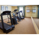 Our fitness center keeps you in shape on the road.
