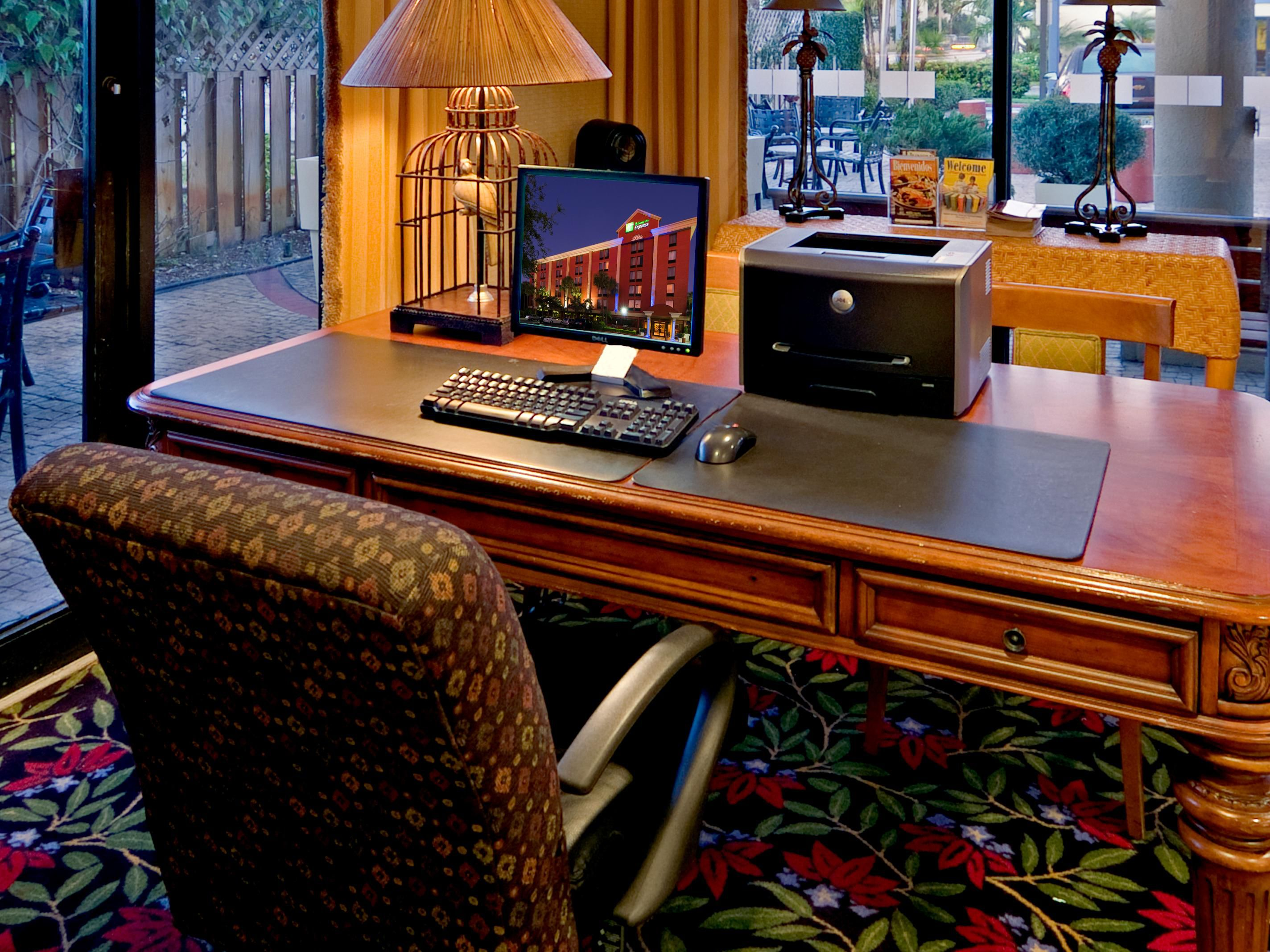 Holiday Inn Express Miami Airport Free 24 hour Business Center