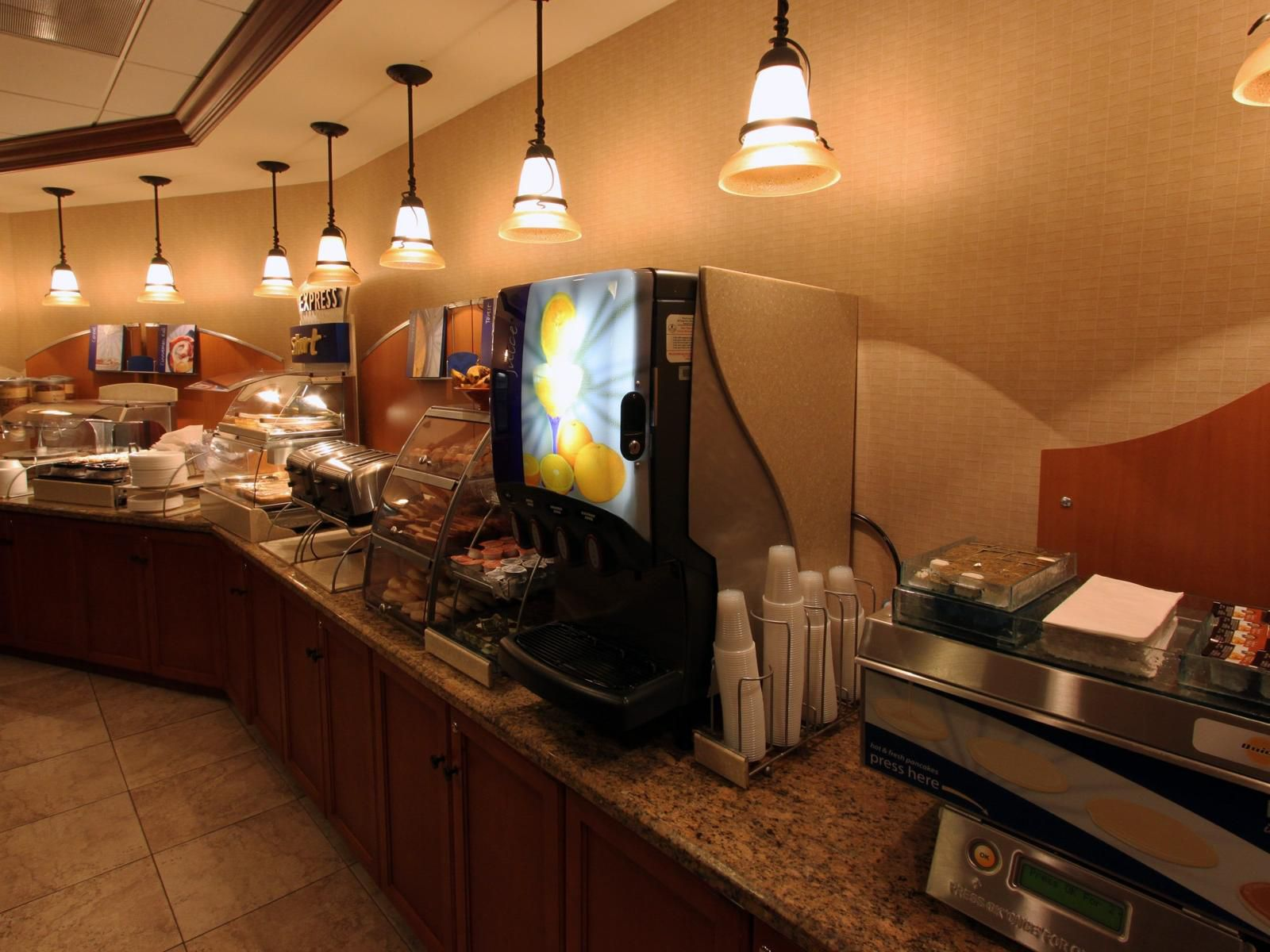 Holiday Inn Express Miami Airport Free Hot Made to Order Pancakes