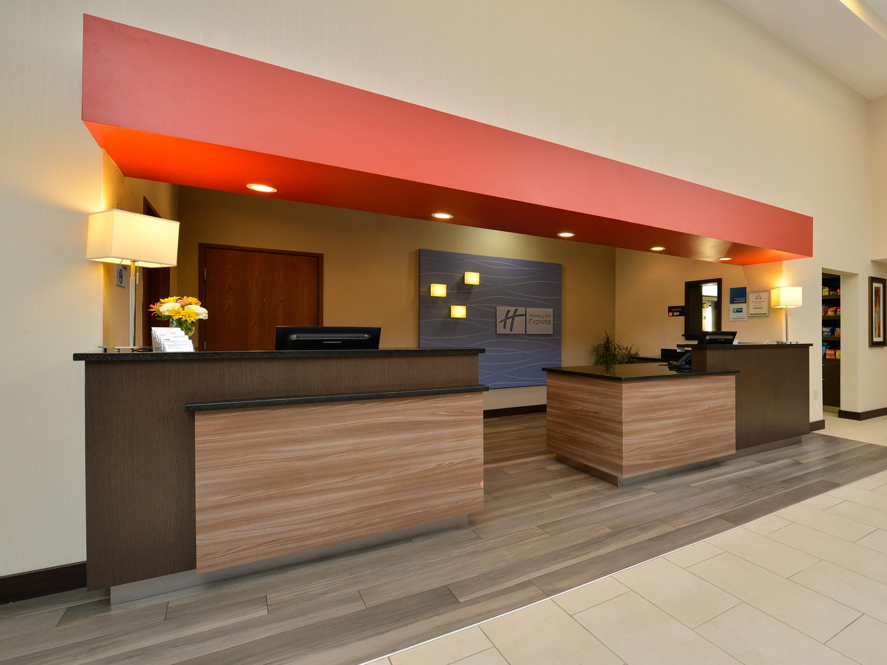 Welcome to the Holiday Inn Express! We hope you enjoy your stay!