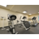 Our 24 hour fitness center features all Cybex equipment.