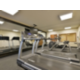 Our fitness center features different types of equipment.