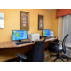 Keep up with work in our business center