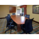 Research Triangle Park visitors enjoy our board room near RDU.