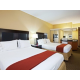 Holiday Inn Express Moss Point Twin Queen Bed Guest Room
