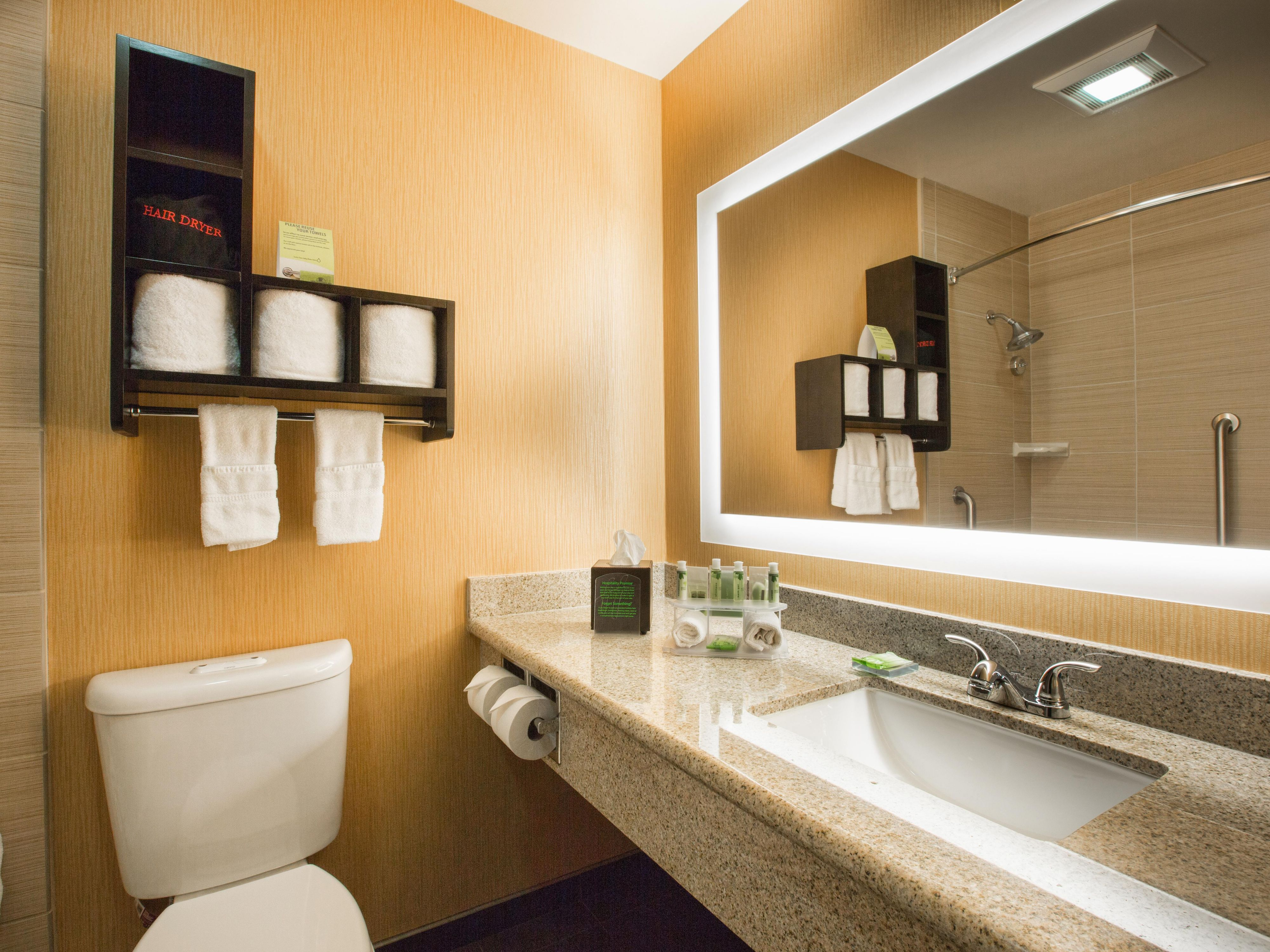 Holiday Inn Express Mtn View / South Palo Alto - Guest Bathroom