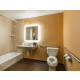 Holiday Inn Express Mountain View Wheelchair Accessible Bath