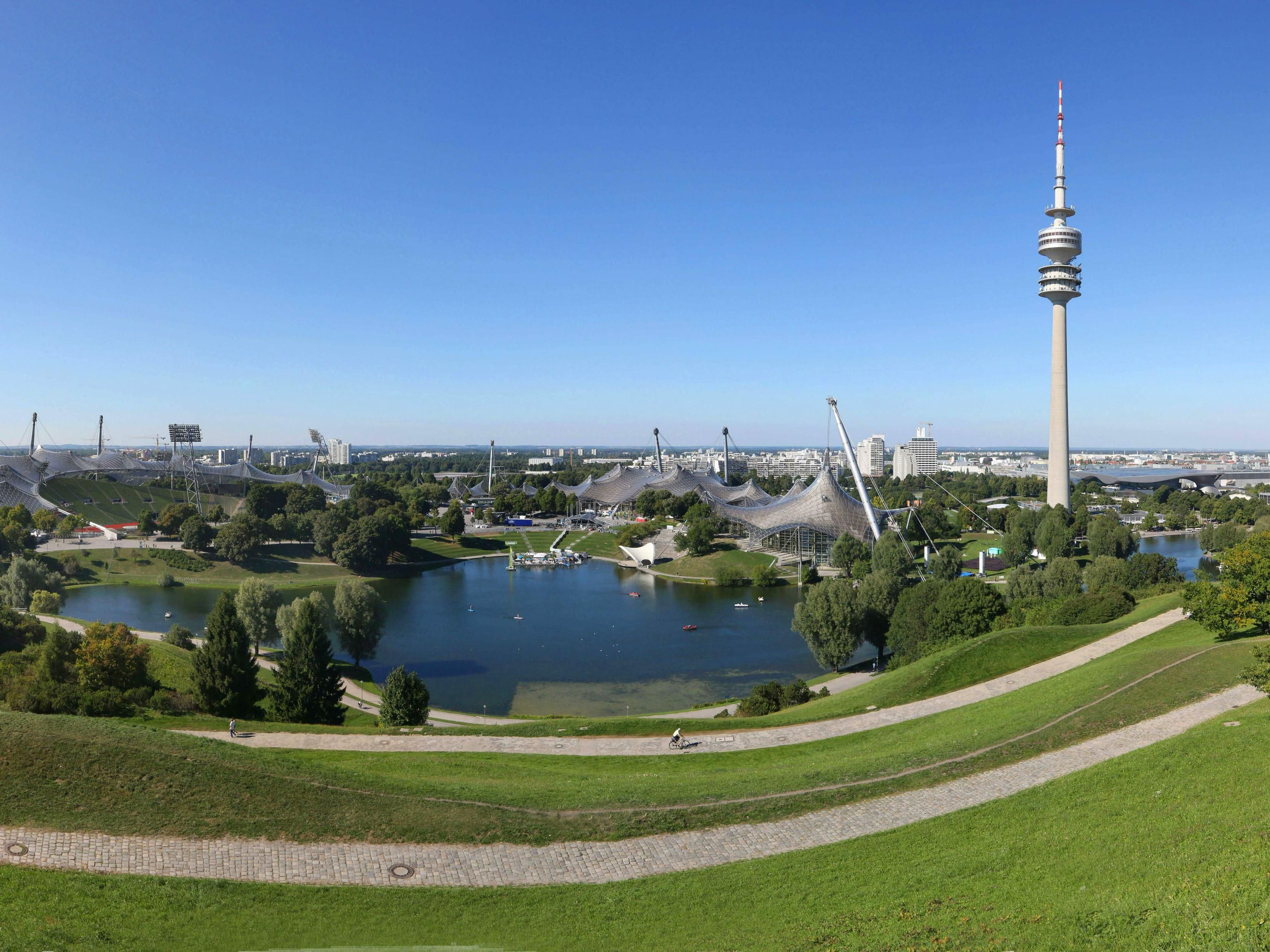 Another popular destination - the Munich Olympic site