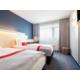 Ideal zum Teilen: unsere Doppelzimmer mit zwei Einzelbetten.