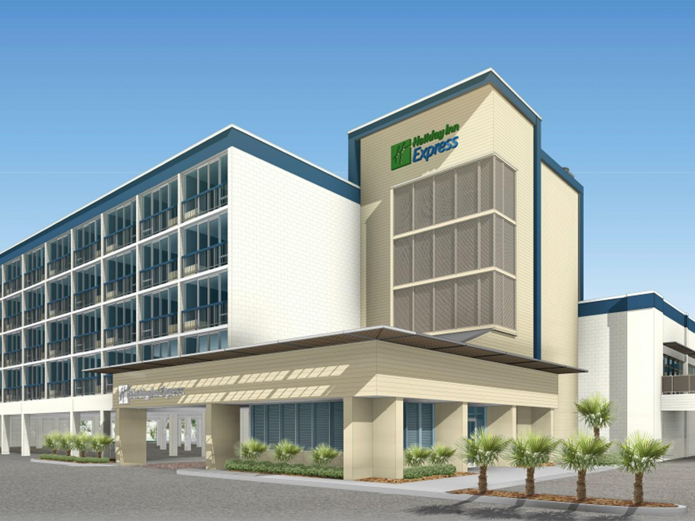 Holiday Inn Express Hotel in Nags Head, NC - HIE Oceanfront