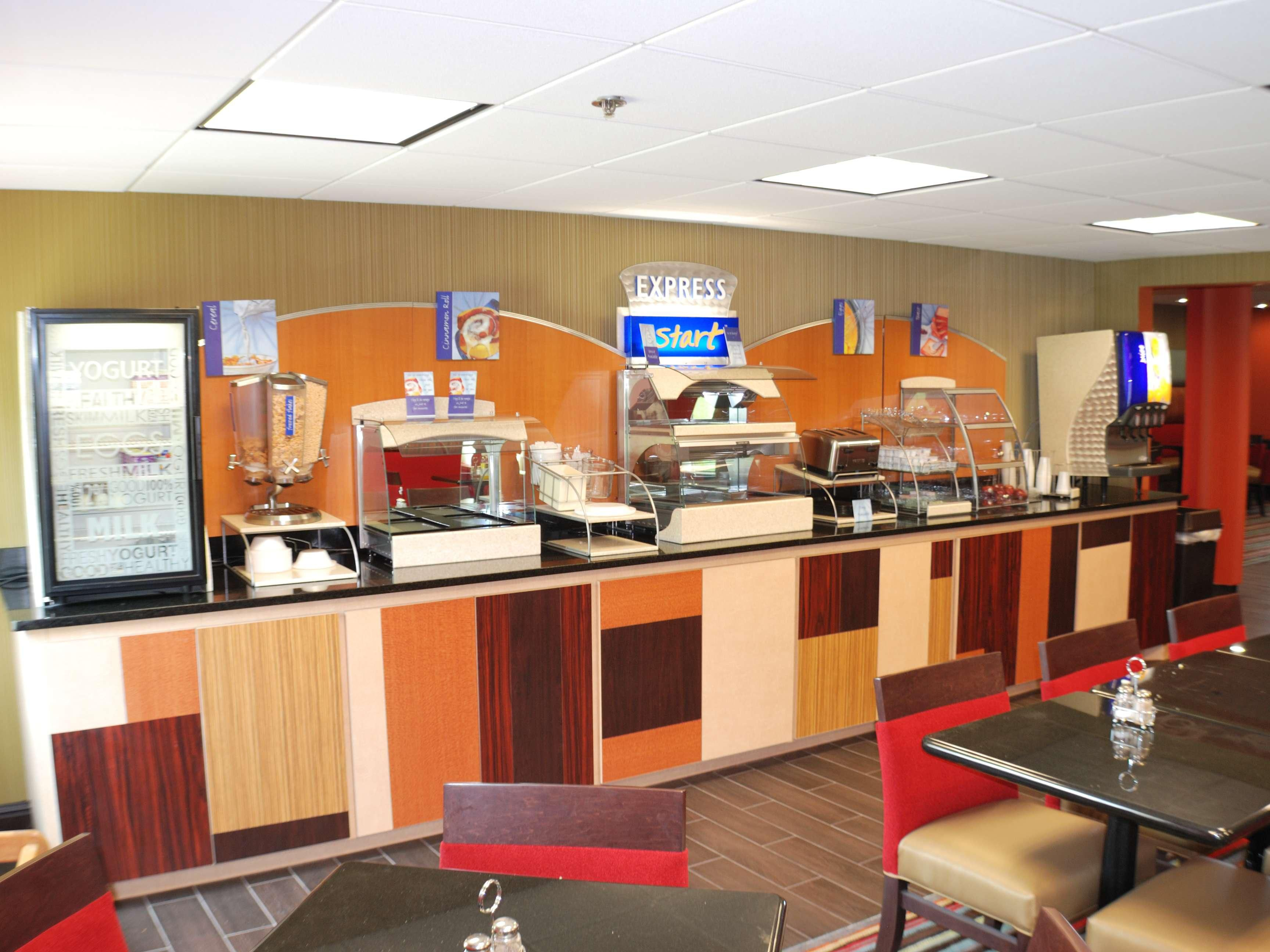 Don't miss the Free Express Breakfast Bar