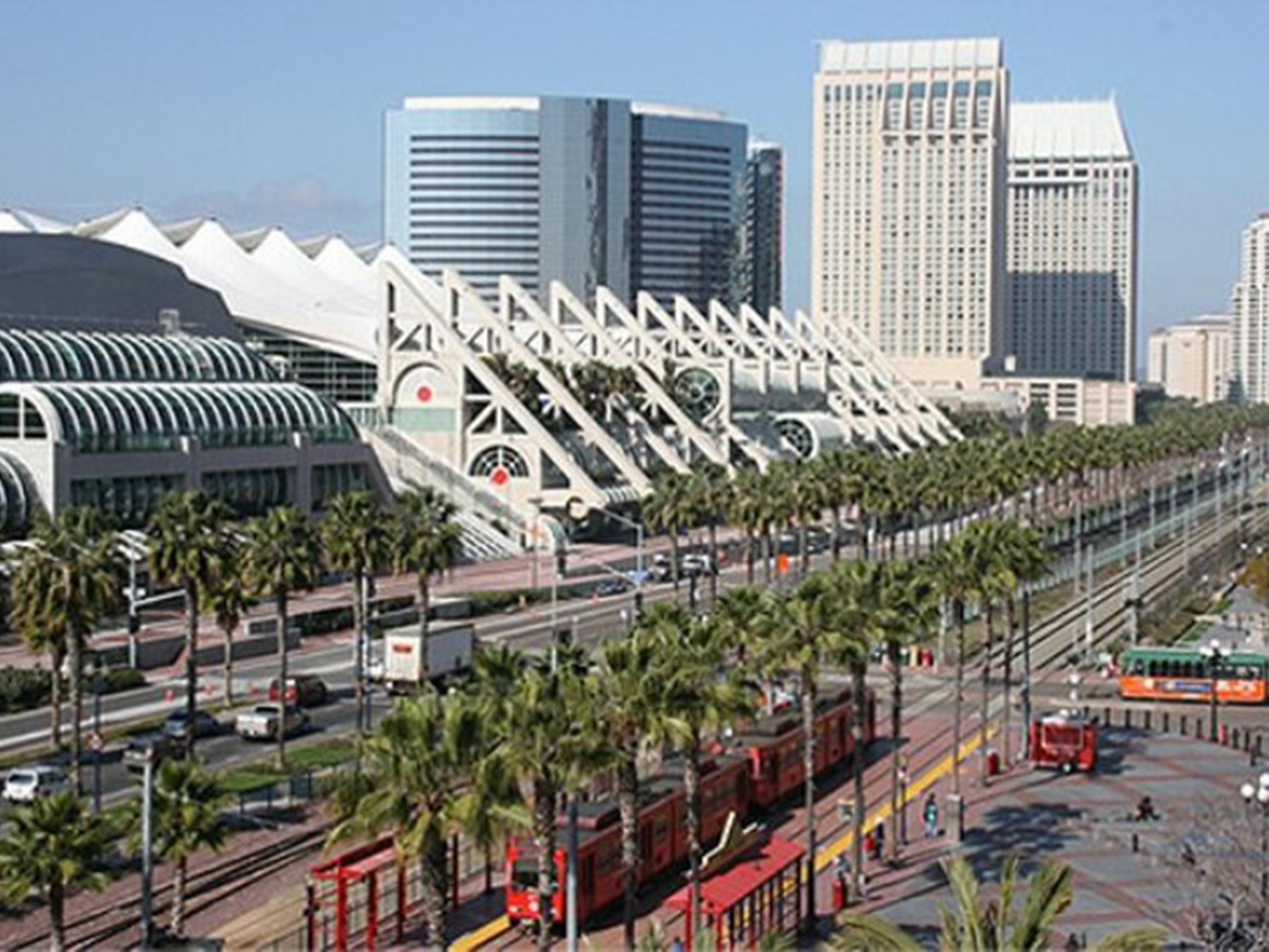 We are a short drive away from San Diego's Convention Center.