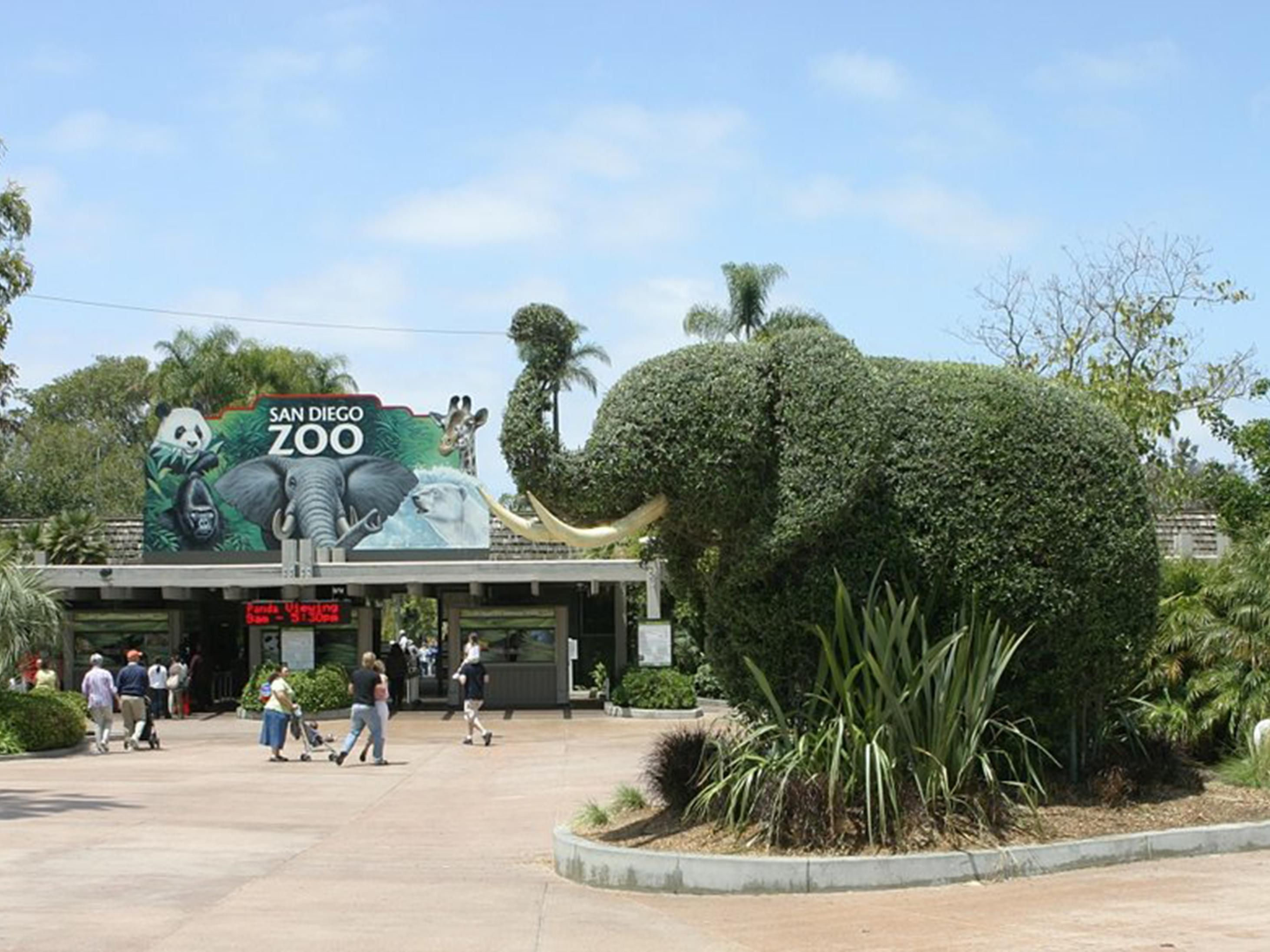 The world famous San Diego Zoo is a favorite among our guests.
