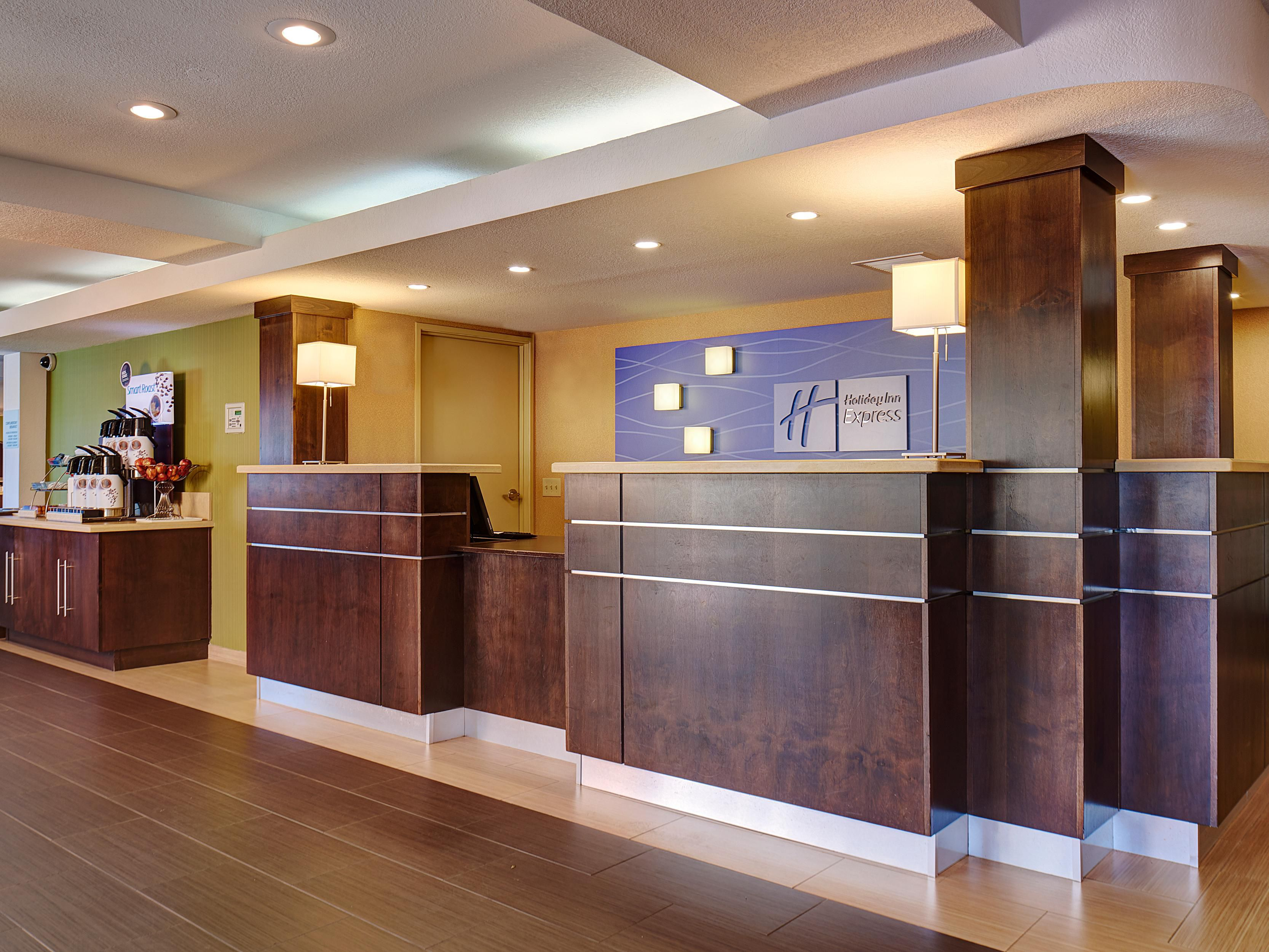 Welcome to the Holiday Inn Express & Suites National City!