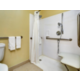 Accessible rooms with roll-in shower are available upon request.
