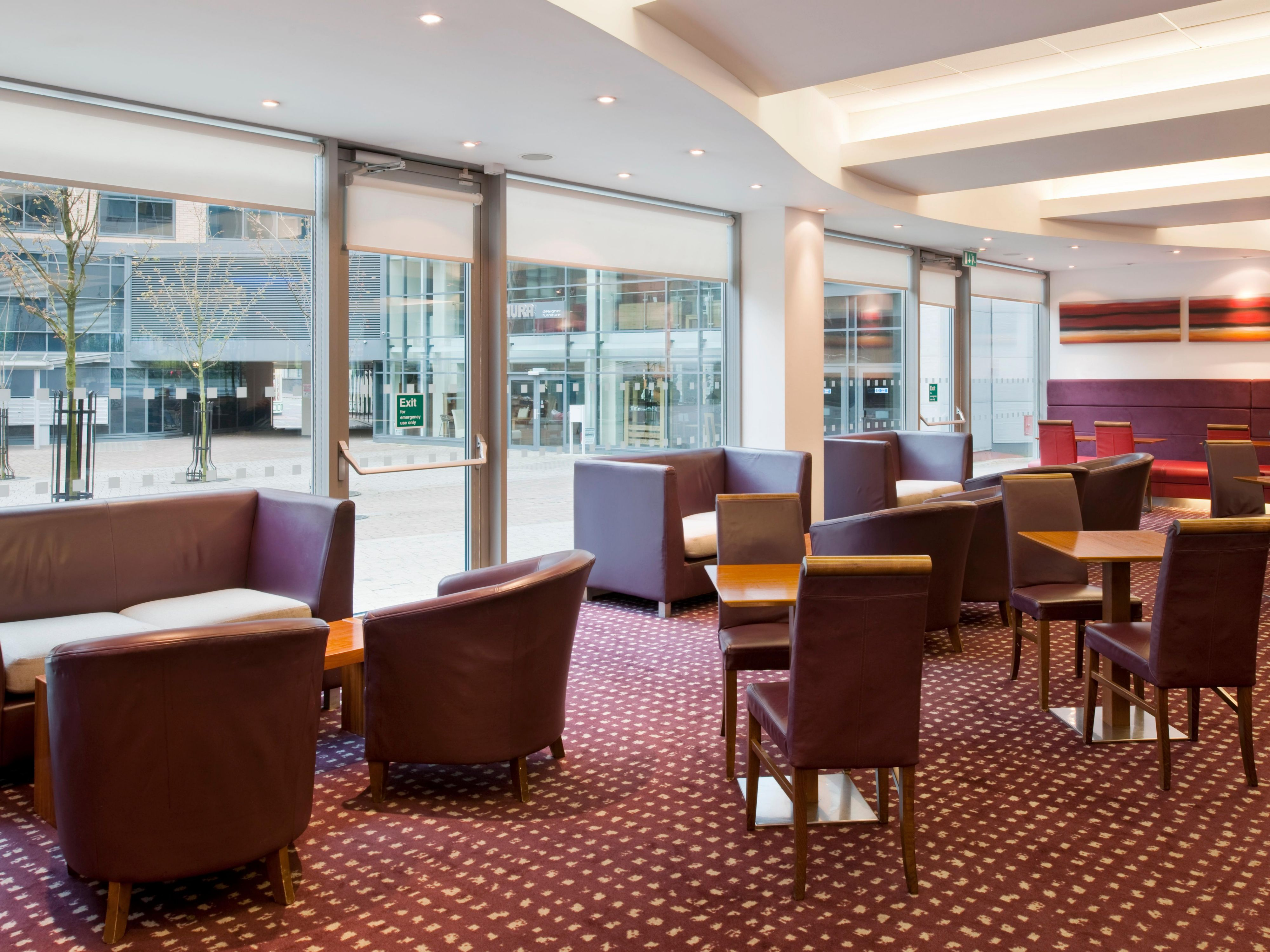 Relax in the lounge at Holiday Inn Express Newcastle City Centre