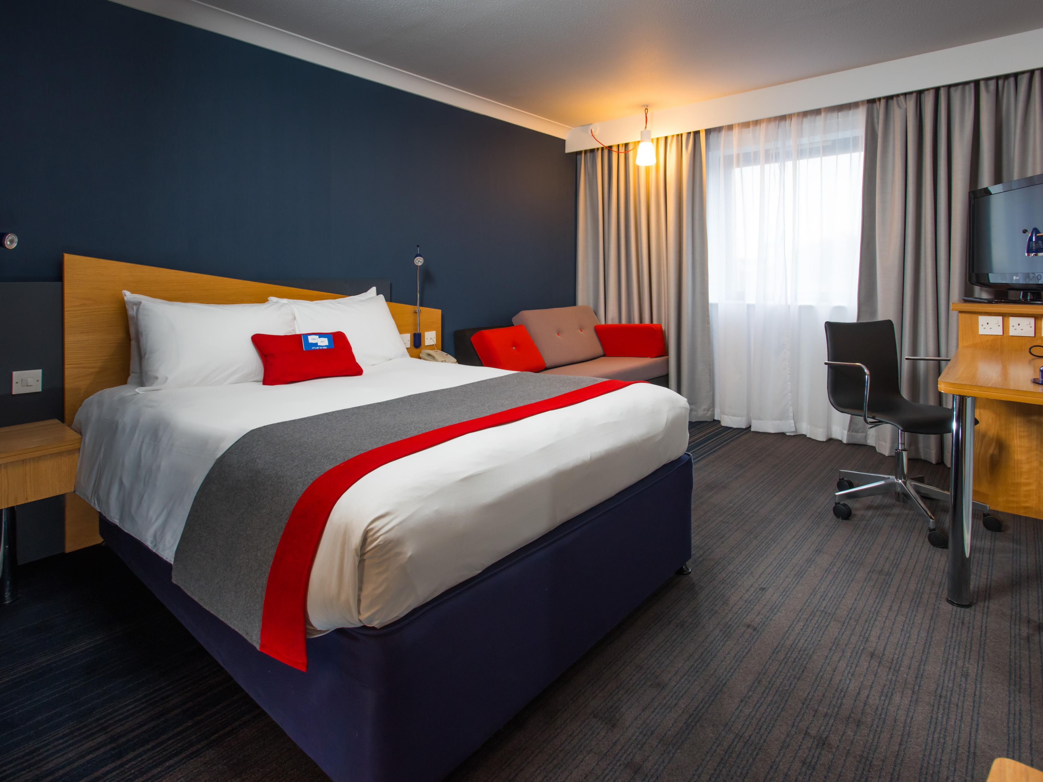 We love our revamped rooms! What do you think?