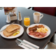 Tuck in to a delicious inclusive buffet breakfast when you awake