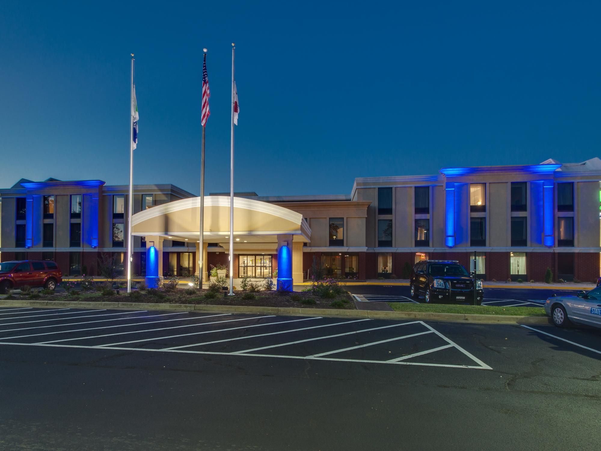 Holiday Inn Express Richmond Midlothian Turnpike Hotel Exterior