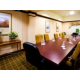 Boardroom ideal for small meeting or deposition.