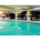 Indoor pool great for a winter getaway or youth sports team fun