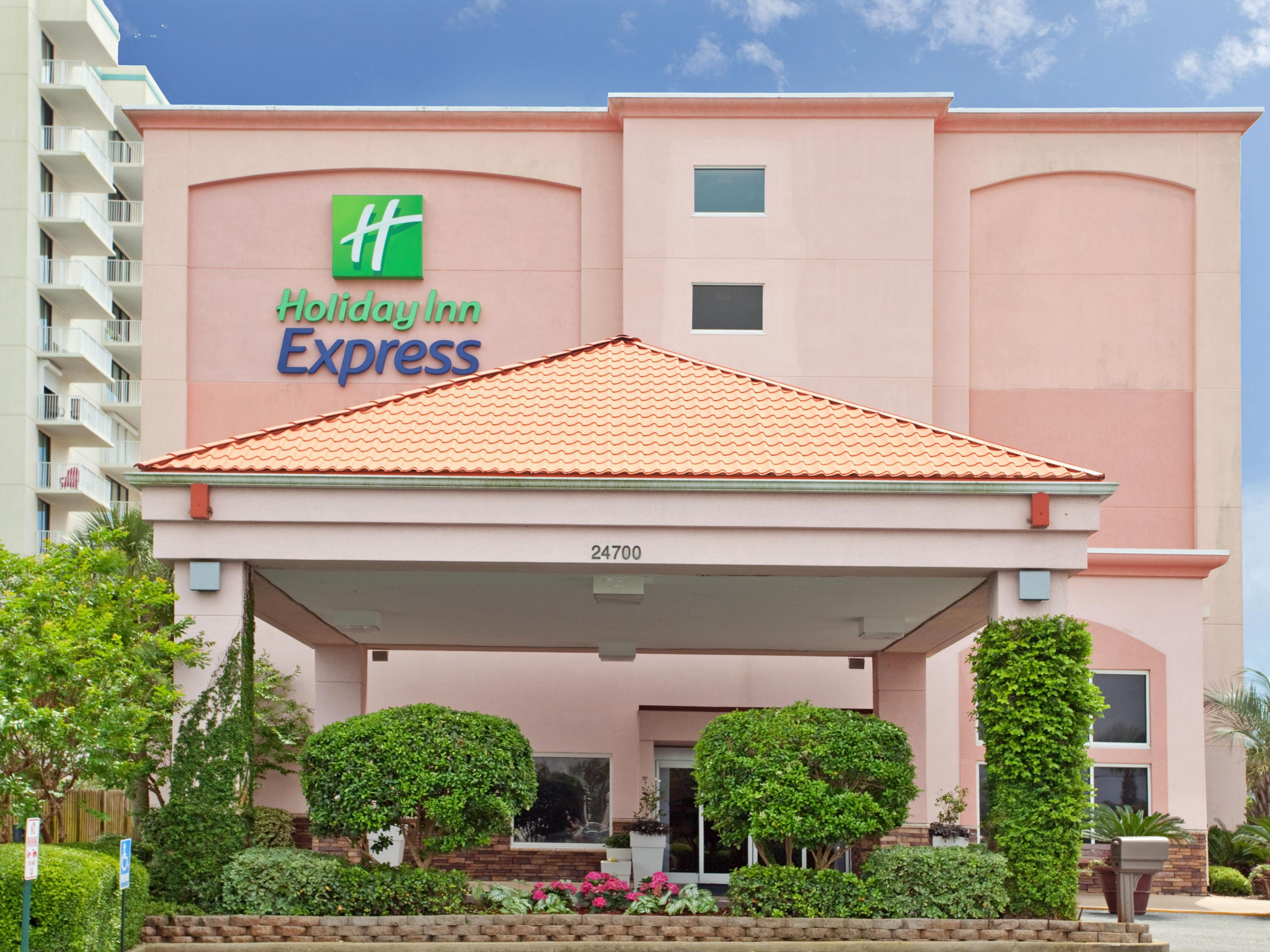 Your slice of paradise at the Hoilday Inn Express, Orange Beach