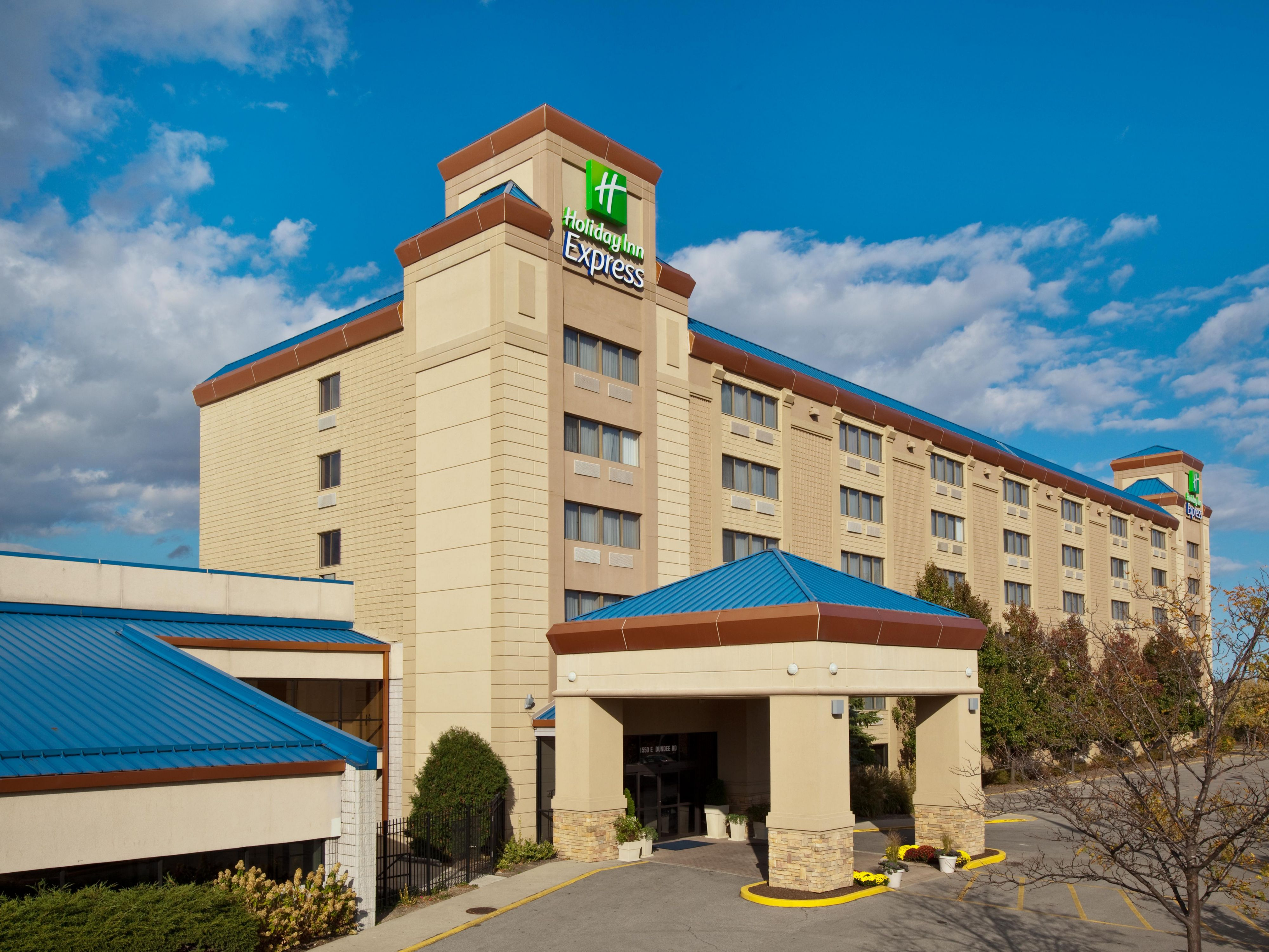 Holiday Inn Express Palatine-Arlington Hts. Chicago NW-hotel ext