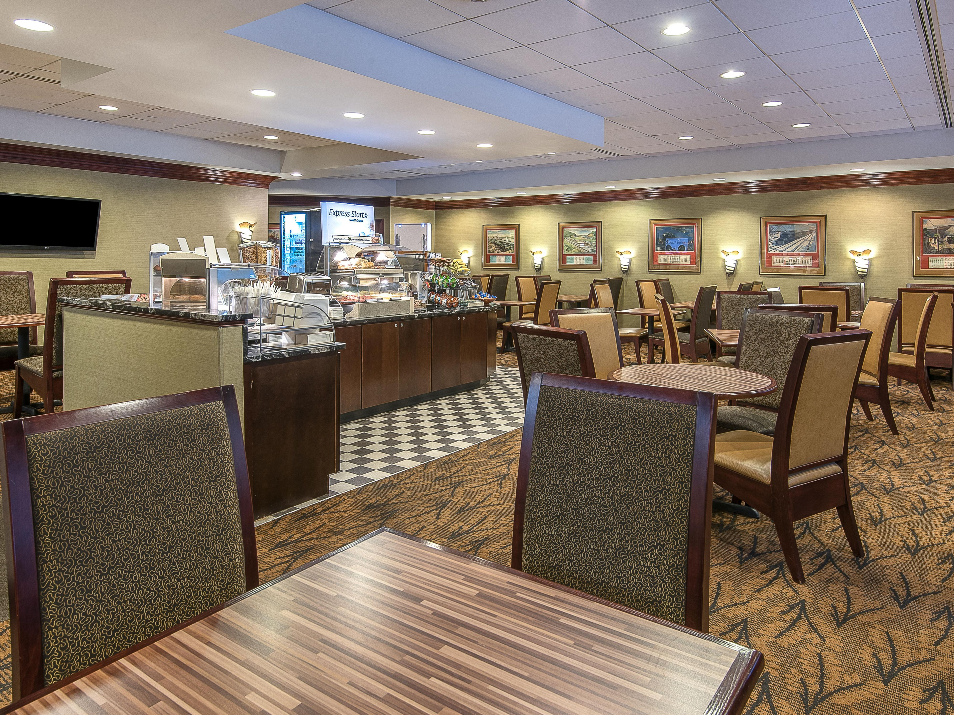 Enjoy our complimentary deluxe breakfast bar each morning
