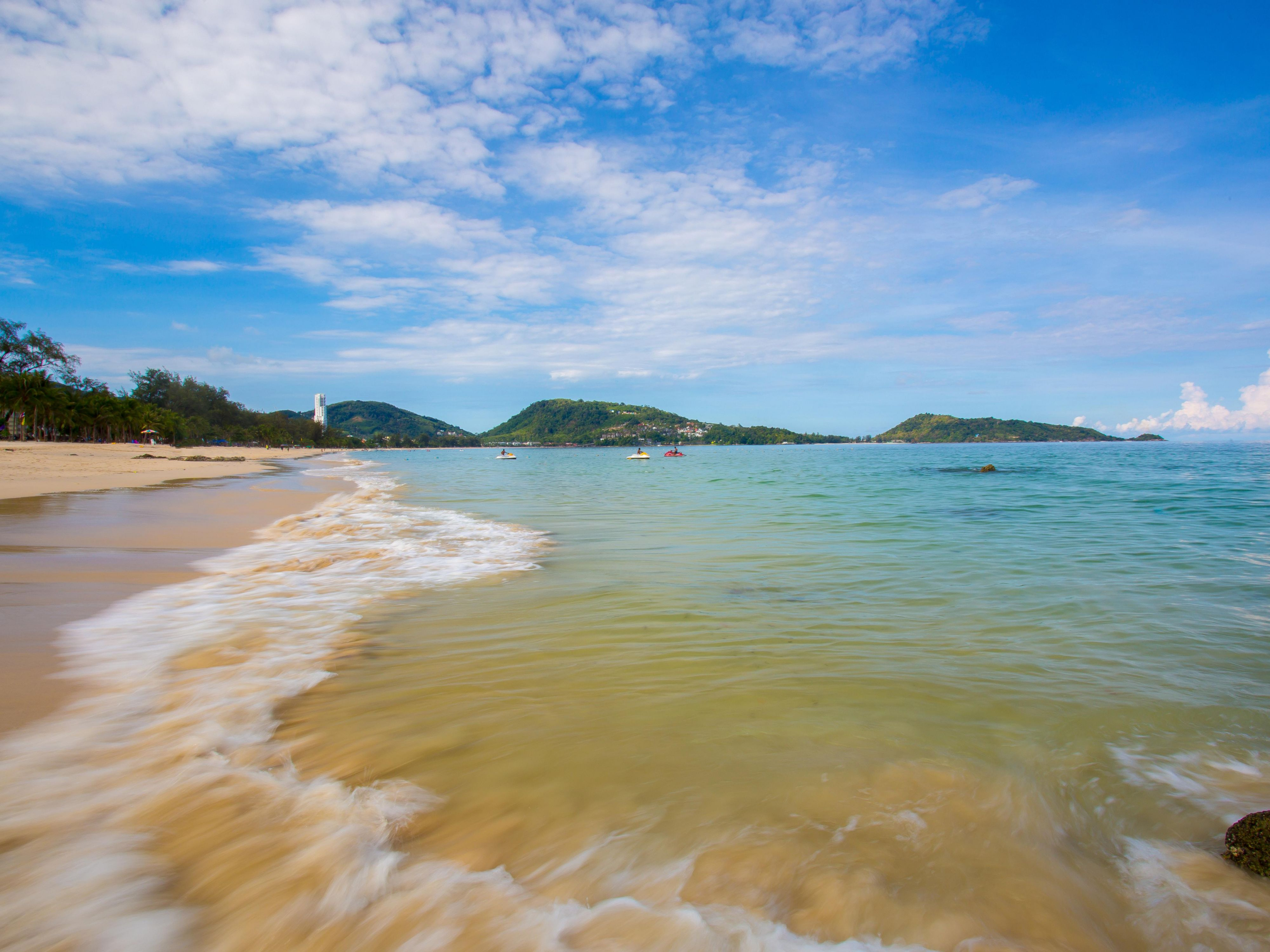 Kalim Beach, only 8 minutes drive from Holiday Inn Express Phuket