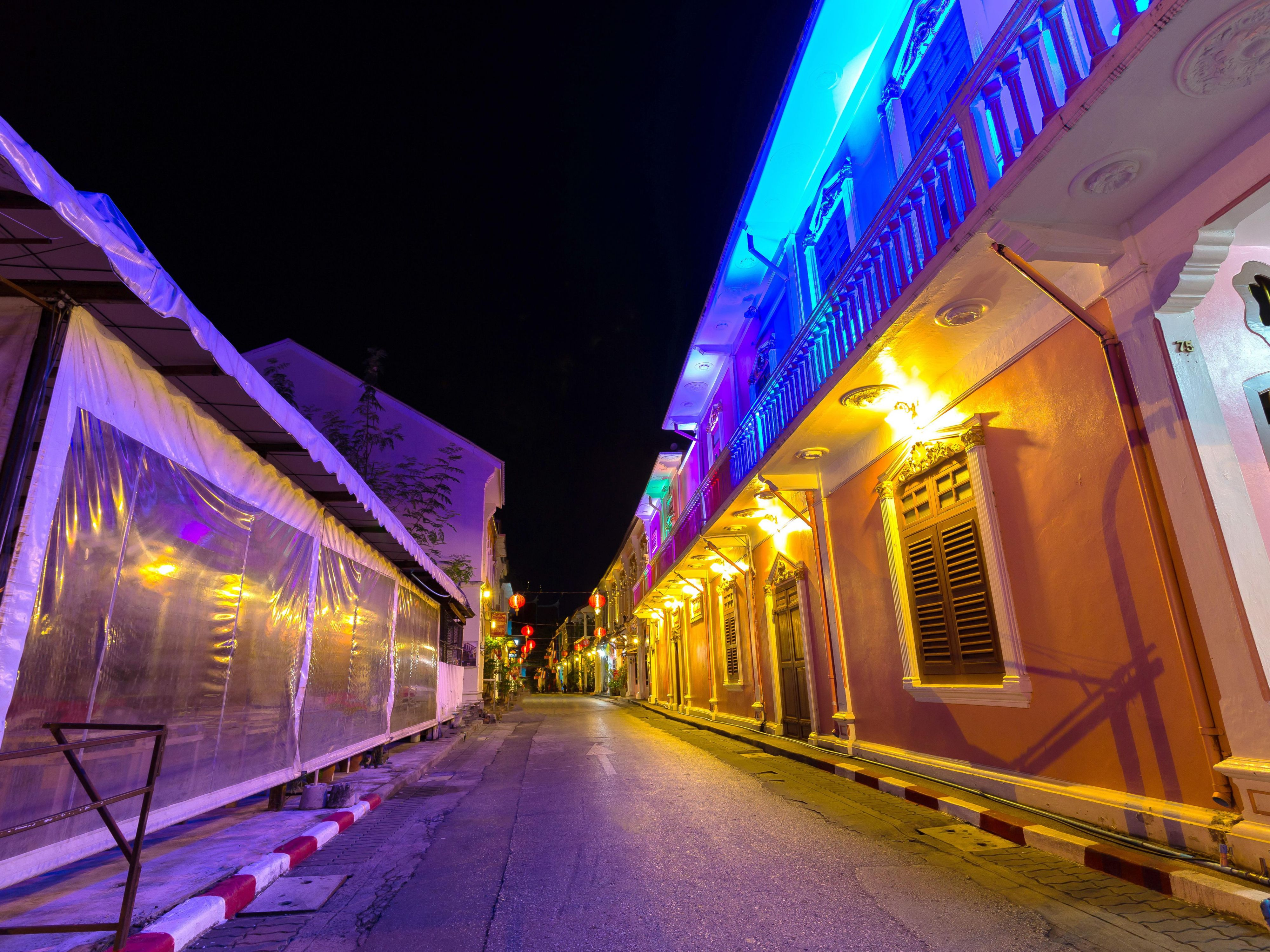 Phuket Old Town, only 30 minutes drive from Holiday Inn Express