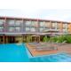 Sunbathing deck swimming pool