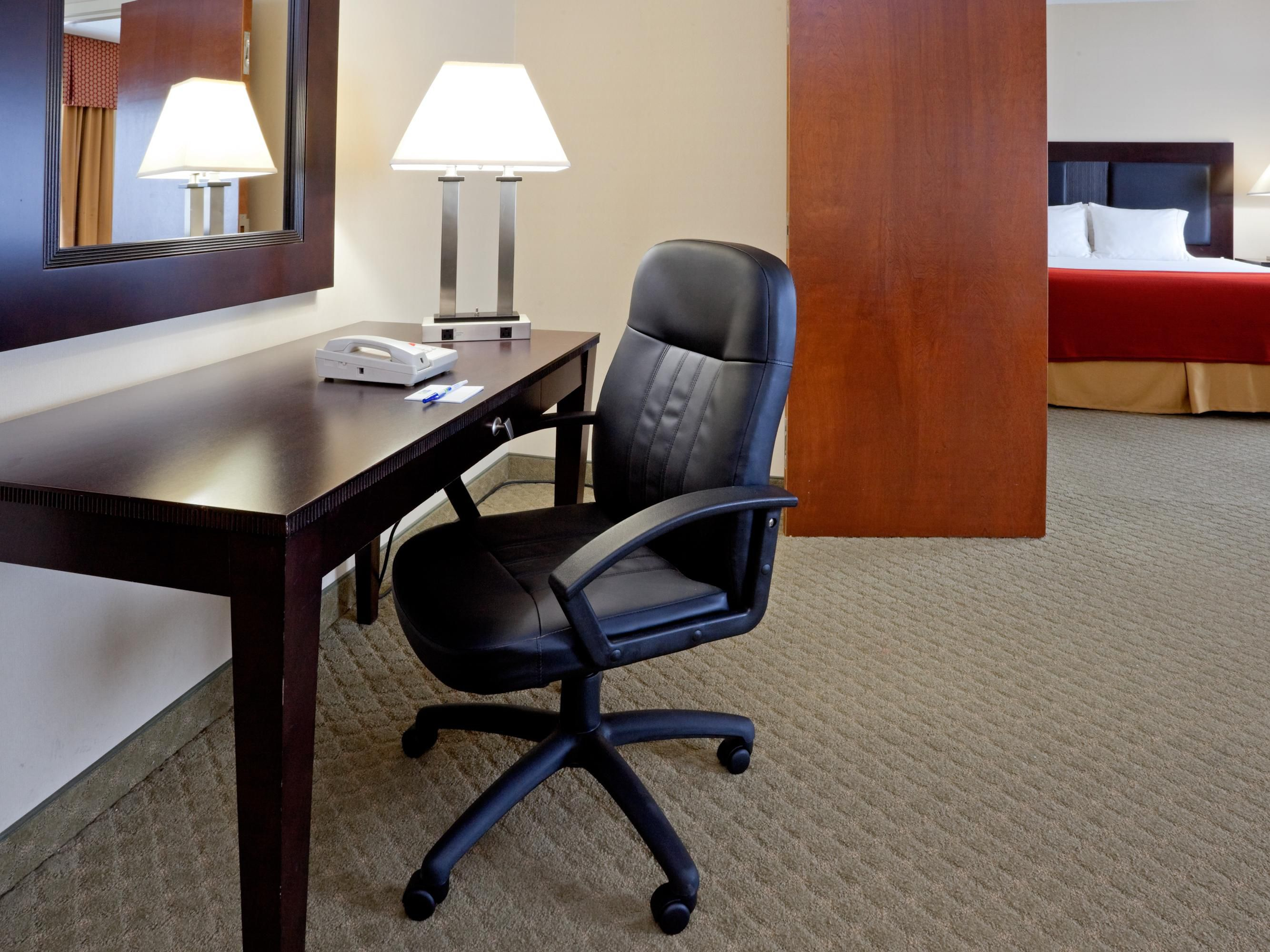 Executive Suite - from the desk