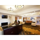 Relax and unwind in the Holiday Inn Express lobby