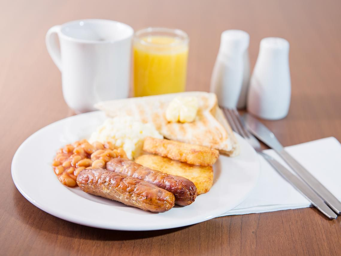 Enjoy our hot breakfast